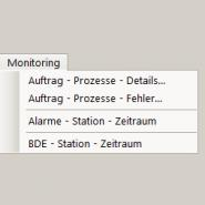 Monitoring Pulldown Menu